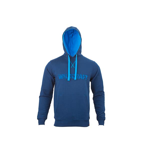 649032792c Buy Men Sweatshirt Hoodie Print - Navy Blue Online | Sweatshirts ...