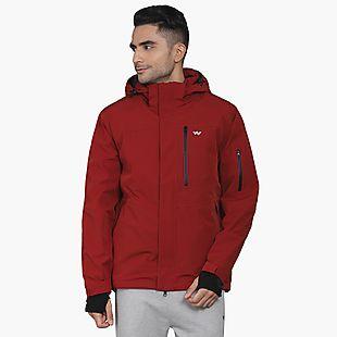 Wildcraft Men Ski Jacket - Red
