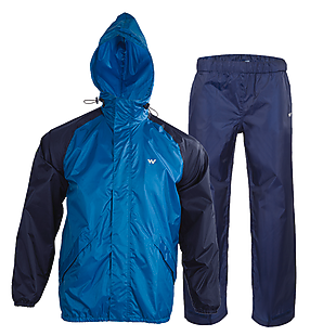Wildcraft Rainwear- Rain Pro Jacket - Light Blue Navy