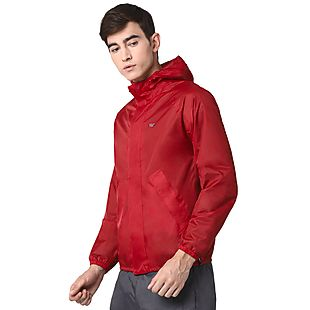 Wildcraft Hypadry Plus Unisex Rain Jacket - Red