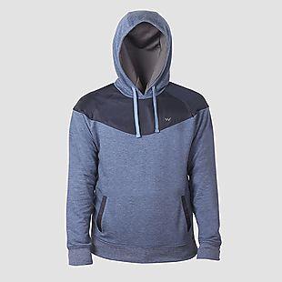 Wildcraft Men Wind Stopping Sweatshirt For Winter - Blue Melange