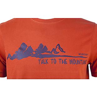 Wildcraft Wildcraft Hypacool Men Mountain Graphic Tee - Orange