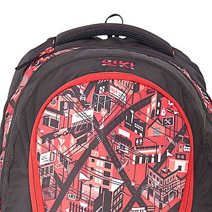 Wildcraft Wiki By Wildcraft City 6 Backpack - Red